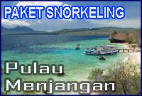 paket snorkeling Pulau Menjangan